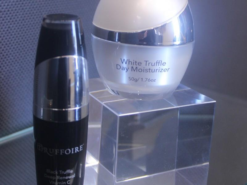 White Truffle Day Moisturizer and Black Truffle Deep Renewal Vitamin C