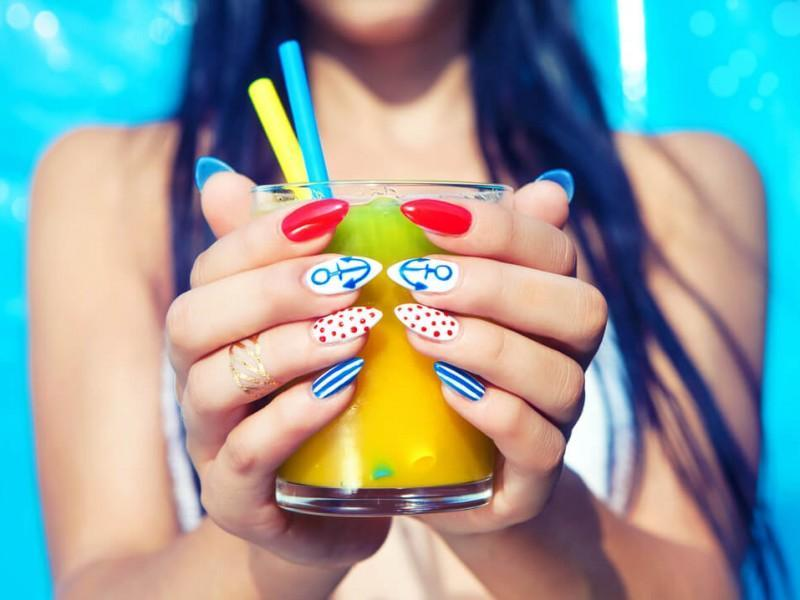 Lucky Polls Best nail colors for summer