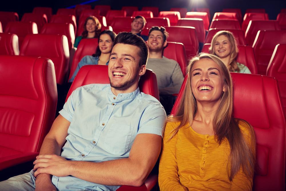 friends in the cinema