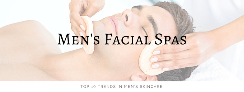 Lucky Polls men's facial spas