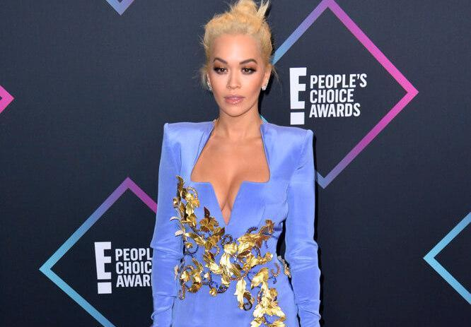 LOS ANGELES, CA. November 11, 2018: Rita Ora at the E! People's Choice Awards 2018 at Barker Hangar, Santa Monica Airport.