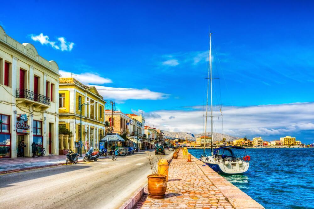 Chios Island street