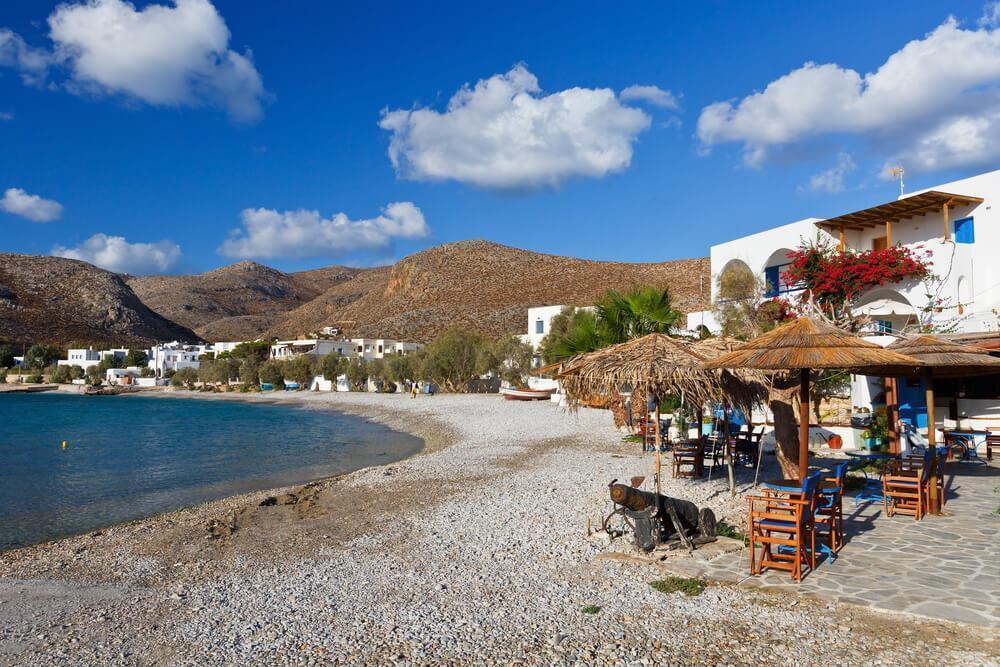 Folegandros island beach
