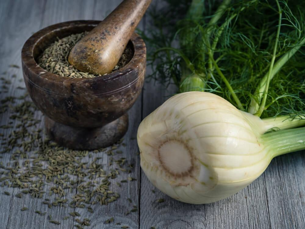 Fennel bulb and seeds