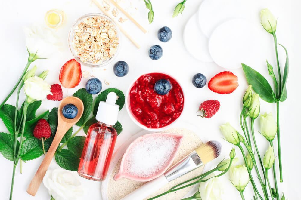 Skin care ingredients with berries